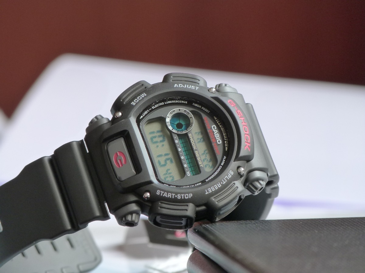 a9632d96109 relógio digital masculino casio g-shock dw-9052-1vdr preto. Carregando zoom.