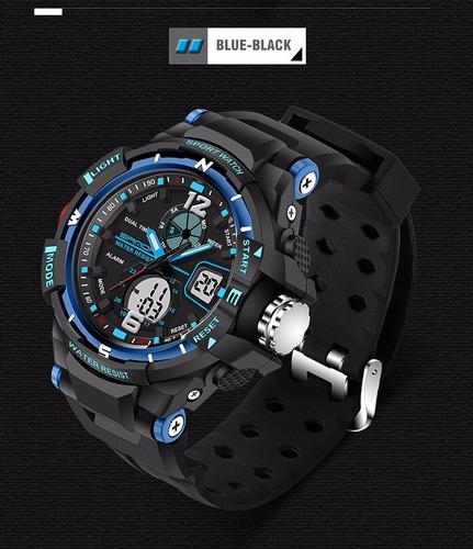 relógio digital masculino esportivo analógio frete grátis