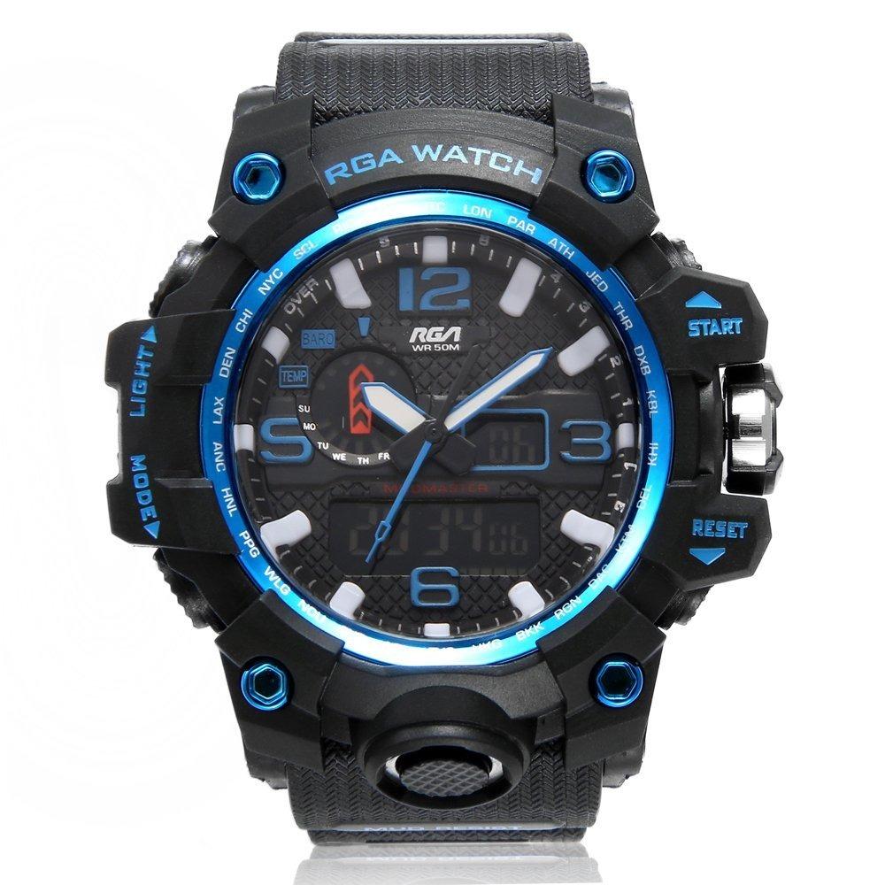 9ccd3ca0e07 relógio digital masculino esportivo aprova d água cronômetro. Carregando  zoom.