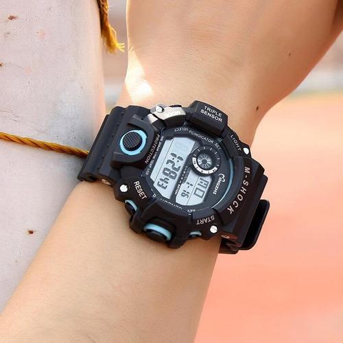 relógio digital masculino militar prova d'água frete grátis