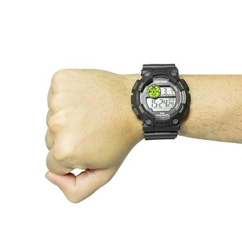 relógio digital masculino preto surf more 20011491m esport
