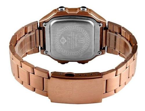 relógio digital masculino retro tuguir 1335 original garanti