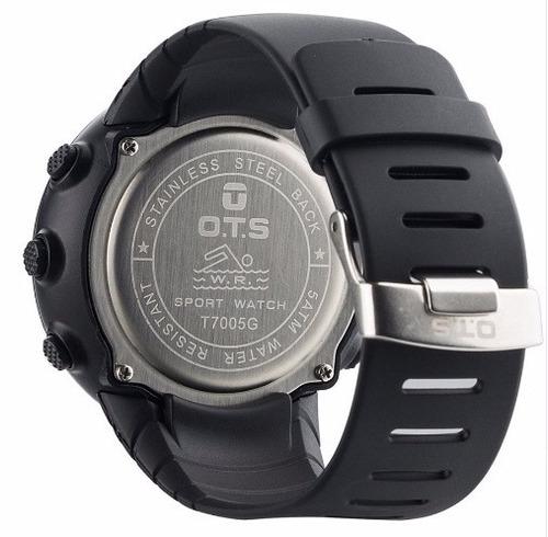 relógio digital militar ots 45mm corrida mergulho g shock