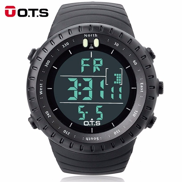 d860b1498a2 Relógio Digital Militar Ots 50mm Esportivo Masculino Casual - R  119 ...