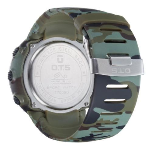 relógio digital militar ots esportivo masculino prova d'água
