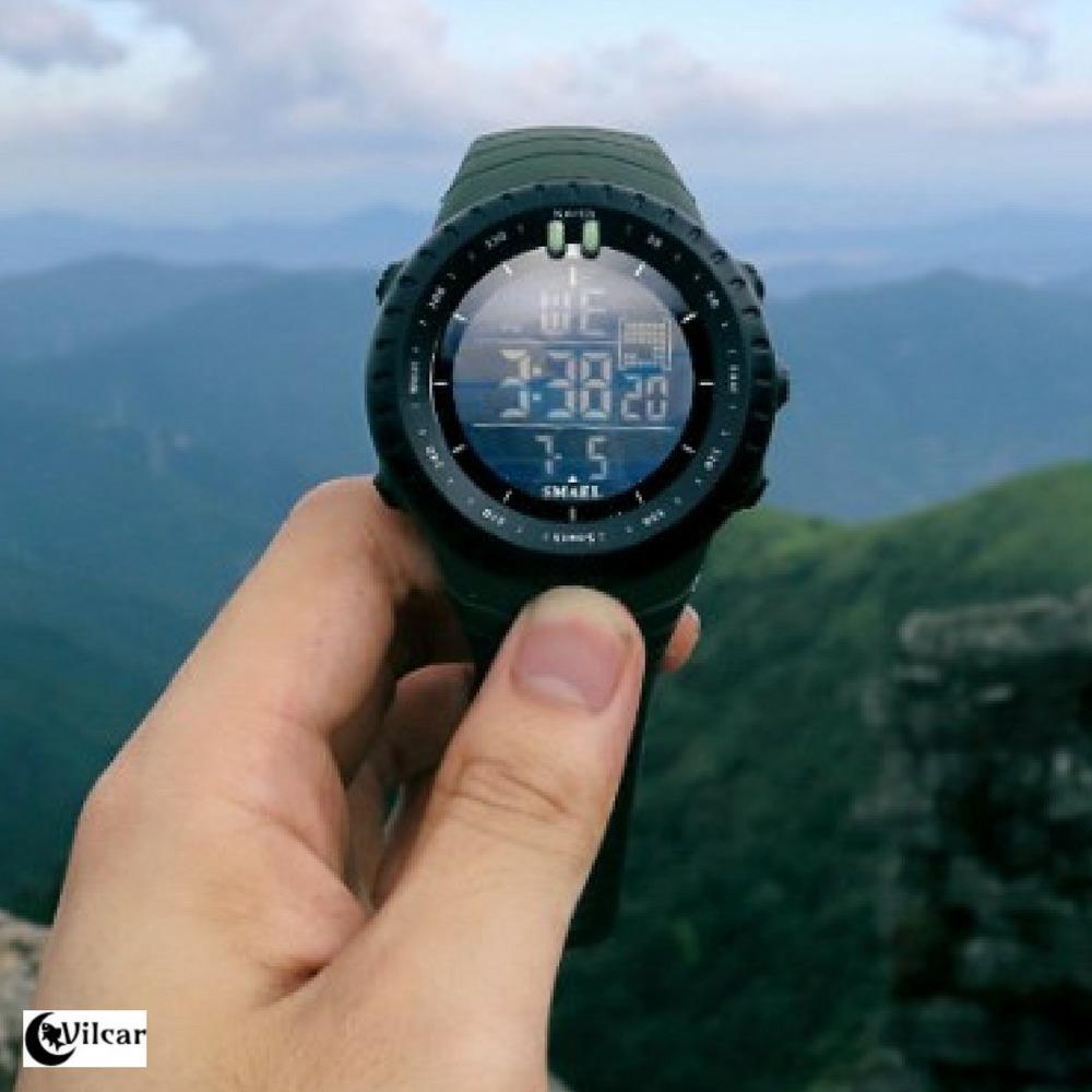 eab5a03e583 relógio digital militar smael esportivo - estilo ots - preto. Carregando  zoom.
