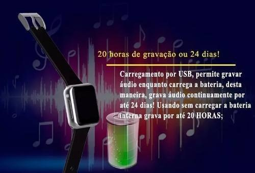 relogio digital pulso masculino de feminino gravador voz be6