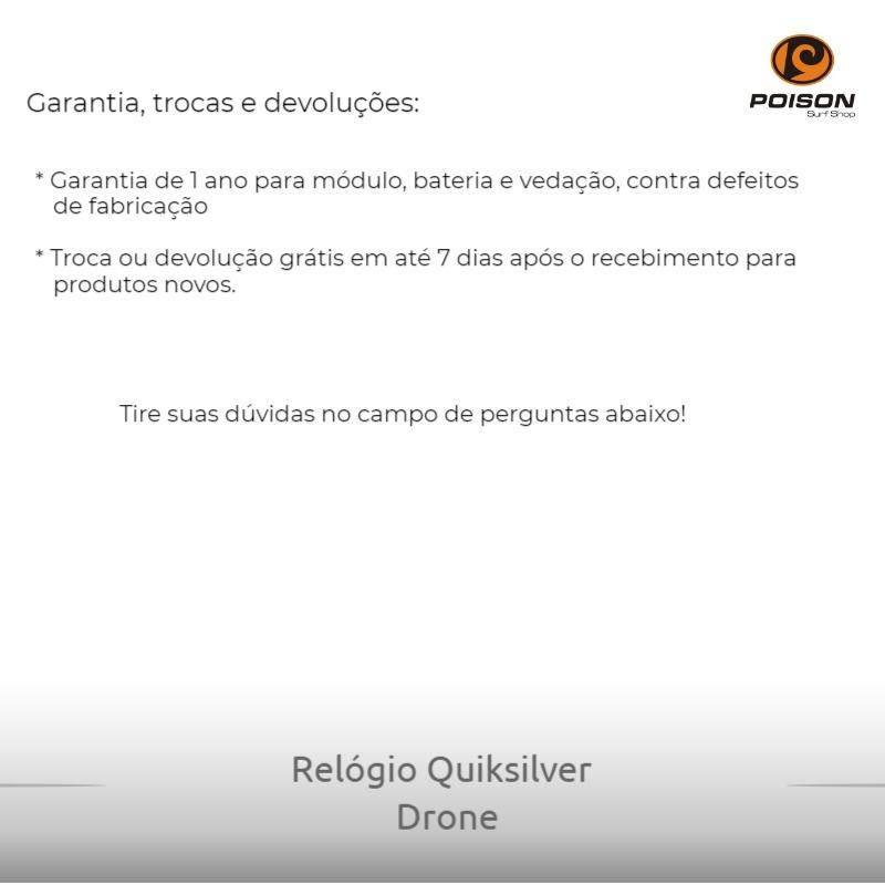 a62441cc246 relógio digital quiksilver drone preto - poison surf shop. Carregando zoom.