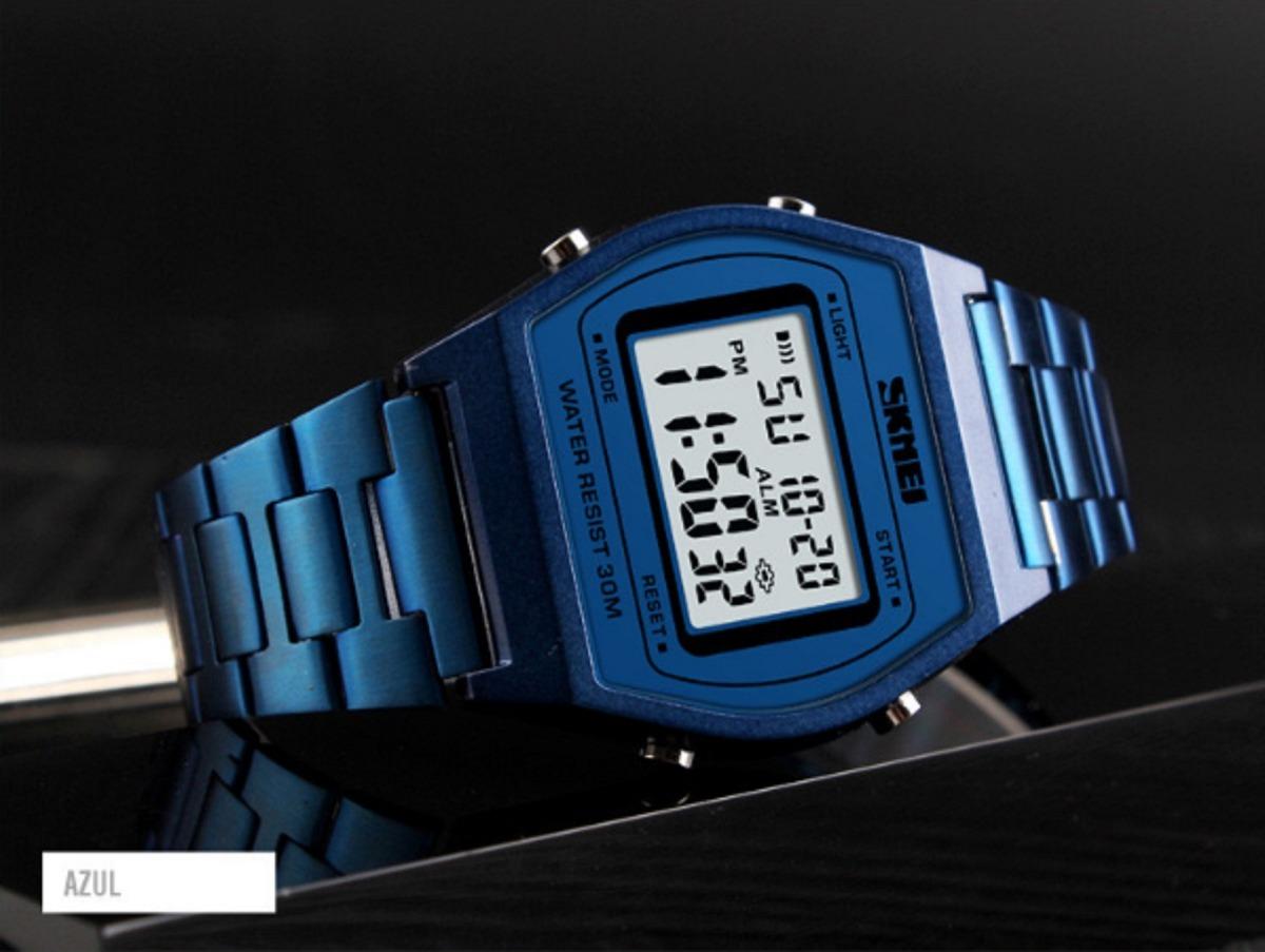 4b5c1a19f40 relógio digital skmei 1328 original - lançamento 2 cores. Carregando zoom.