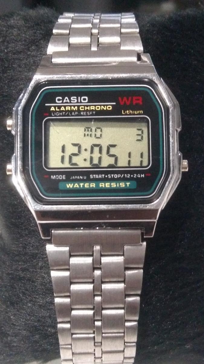 aaa12895a8c relógio digital vintage rose dourado prata unisex casio. Carregando zoom.