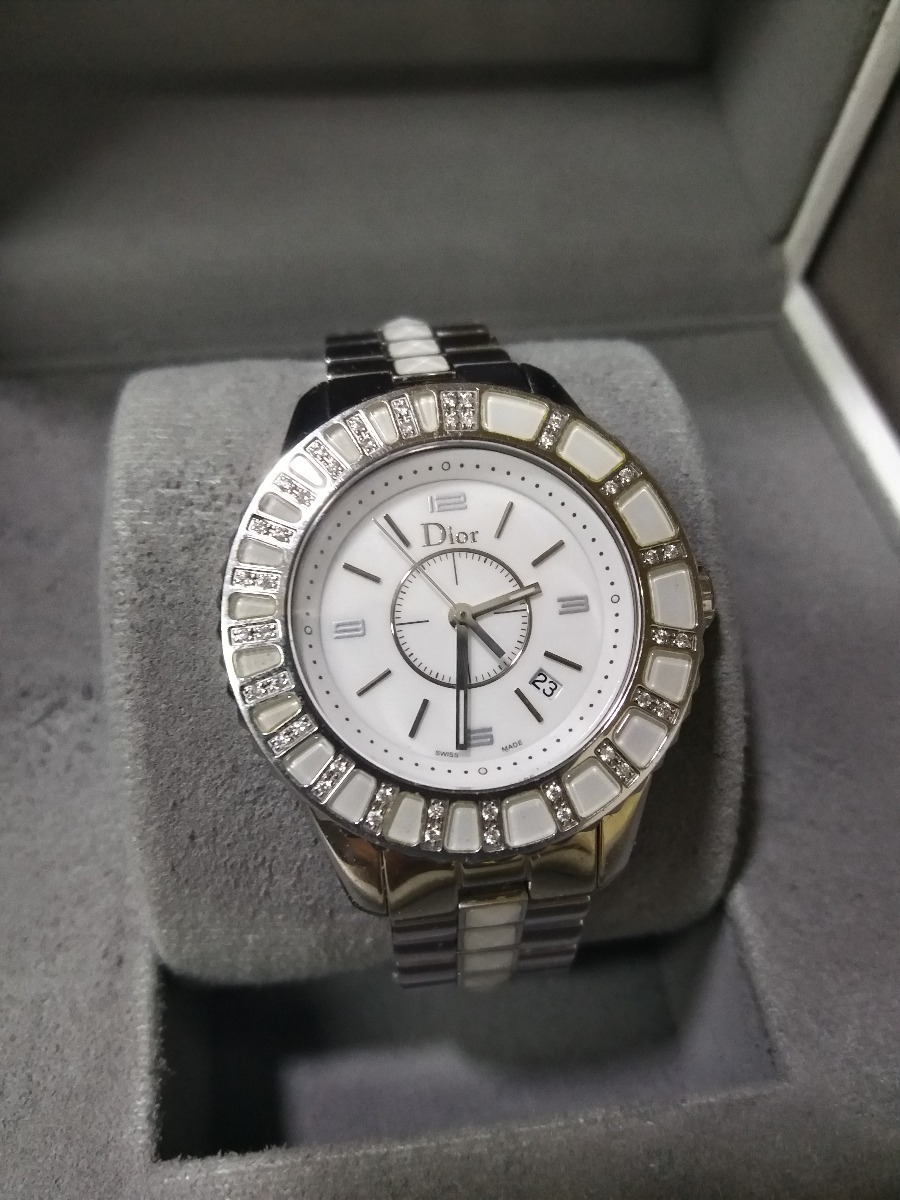6fcc76f31ad relógio dior christal. Carregando zoom.