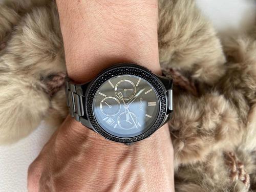 relógio dkny original preto sem uso!