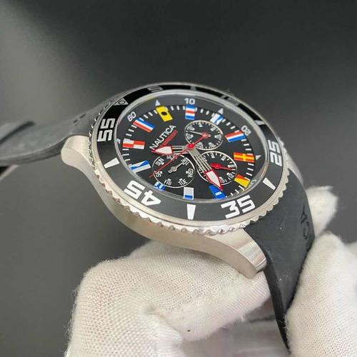 relógio dos homens nautica a12626g
