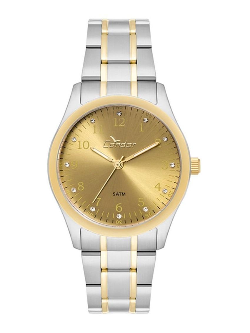 5e201500f92 relógio dourado e prata condor social barato co2035fne 5d. Carregando zoom.