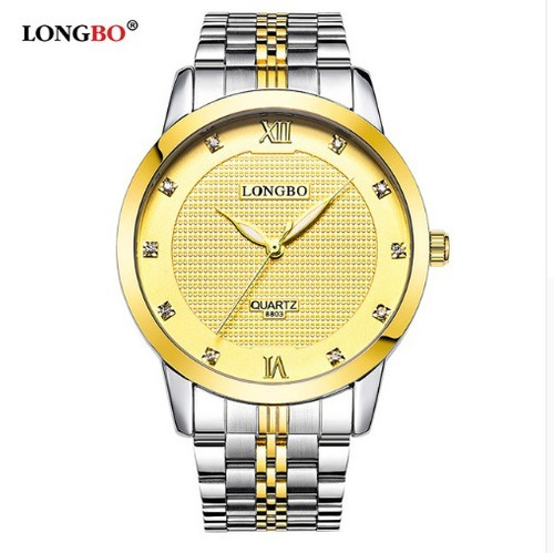 relógio dourado feminino 3 modelos