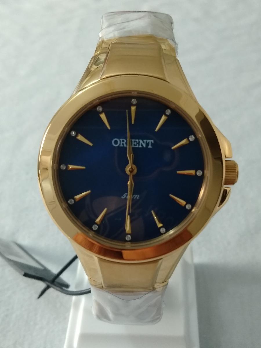 551aaf306a2 relógio dourado feminino orient original frete grátis. Carregando zoom.