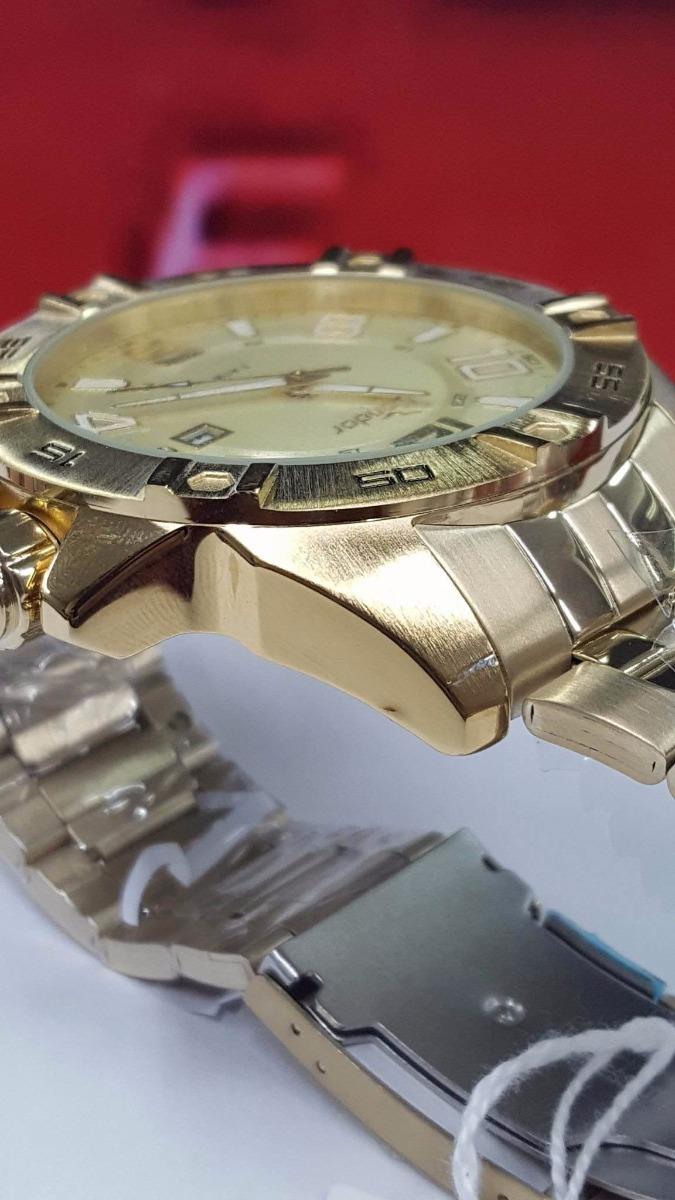 fda0580e273 relógio dourado grande condor co2315aa 4x by  technos. Carregando zoom.