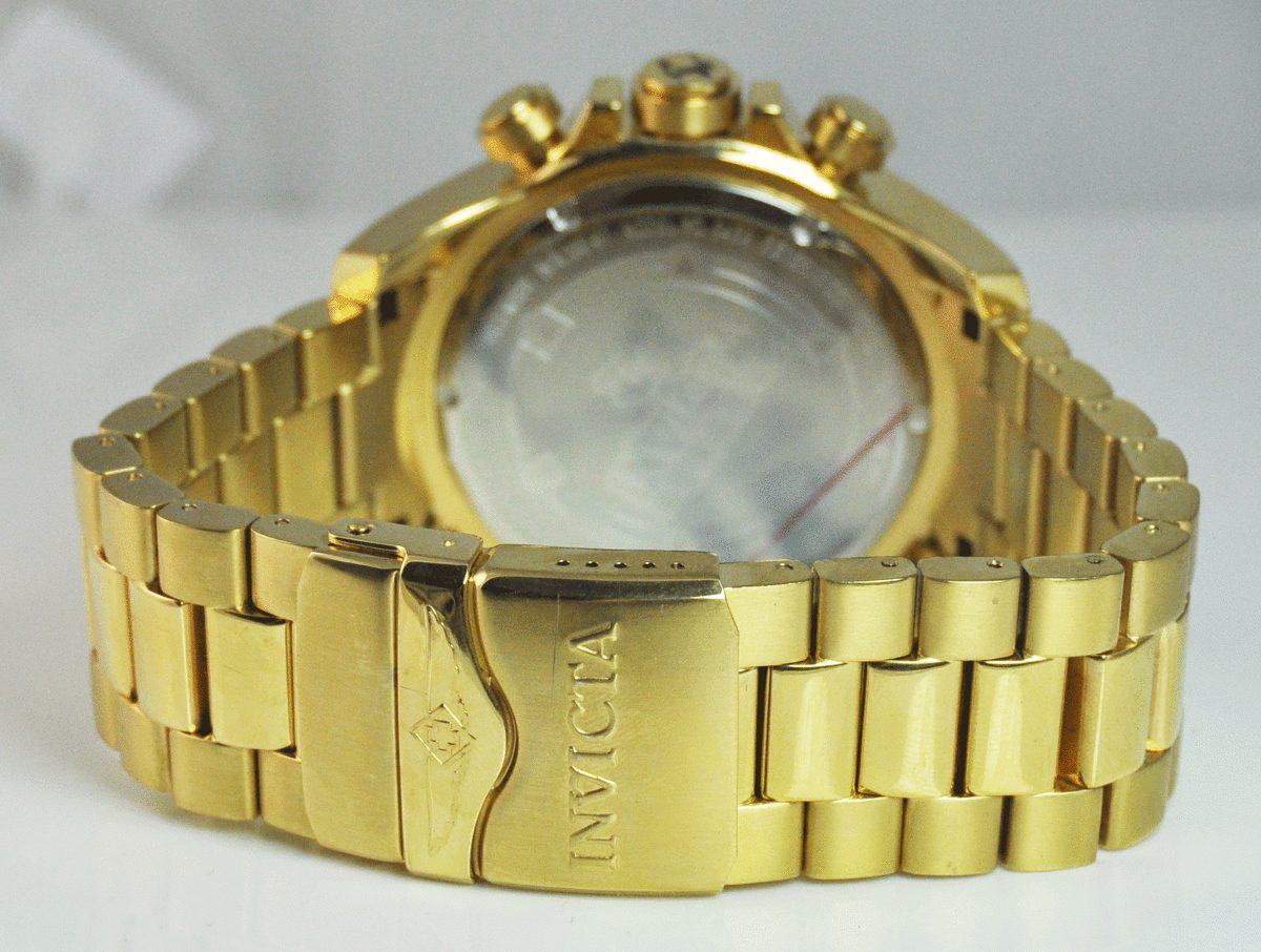 42e817aefde relógio dourado invicta reserve excursion 6469 frete grátis. Carregando zoom .