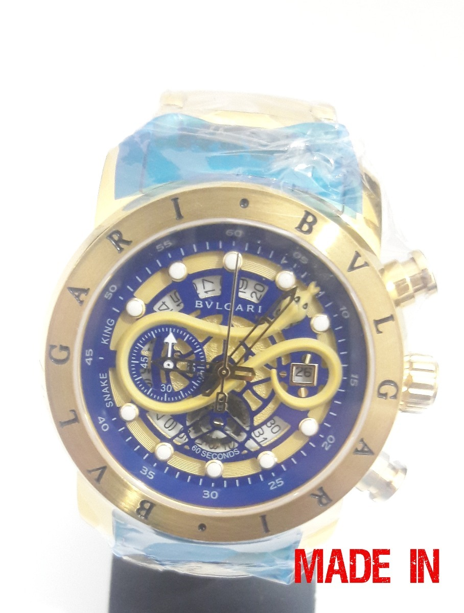 60384f9ec33 relogio dourado iron man dourado azul garantia 32563. Carregando zoom.