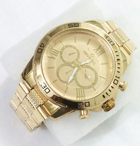 751a5b9de Relógio Dourado Masculino