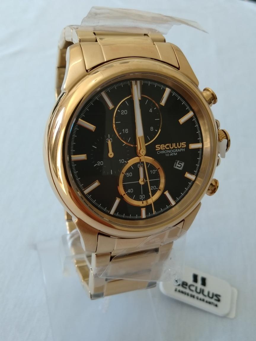 be79739041f relogio dourado masculino seculus original ref-13023gpsvda1. Carregando  zoom.