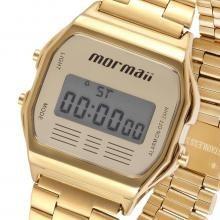 cf306967e64 Relógio Dourado Mormaii Retro Vintage Unissex Mojh02ab 4d - R  179 ...