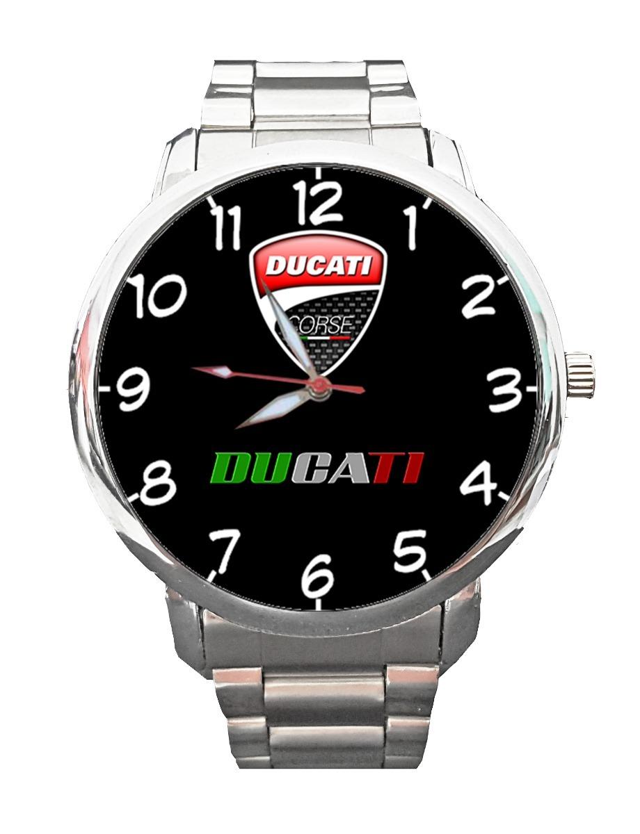 baa283b36a9 Relógio Ducati De Pulso Personalizado Moto Logo Corse 899 - R  83