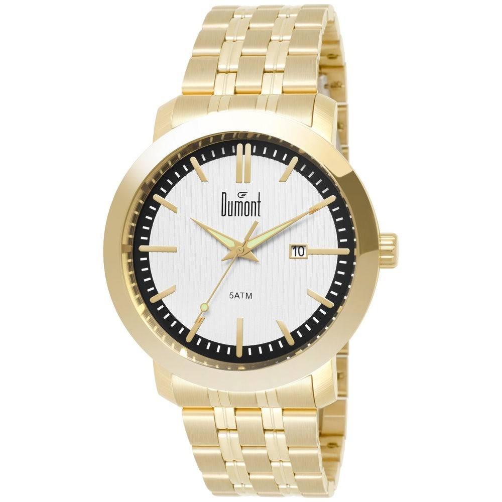 4b26e153682 relógio dumont berlim du2115aab 4p dourado. Carregando zoom.