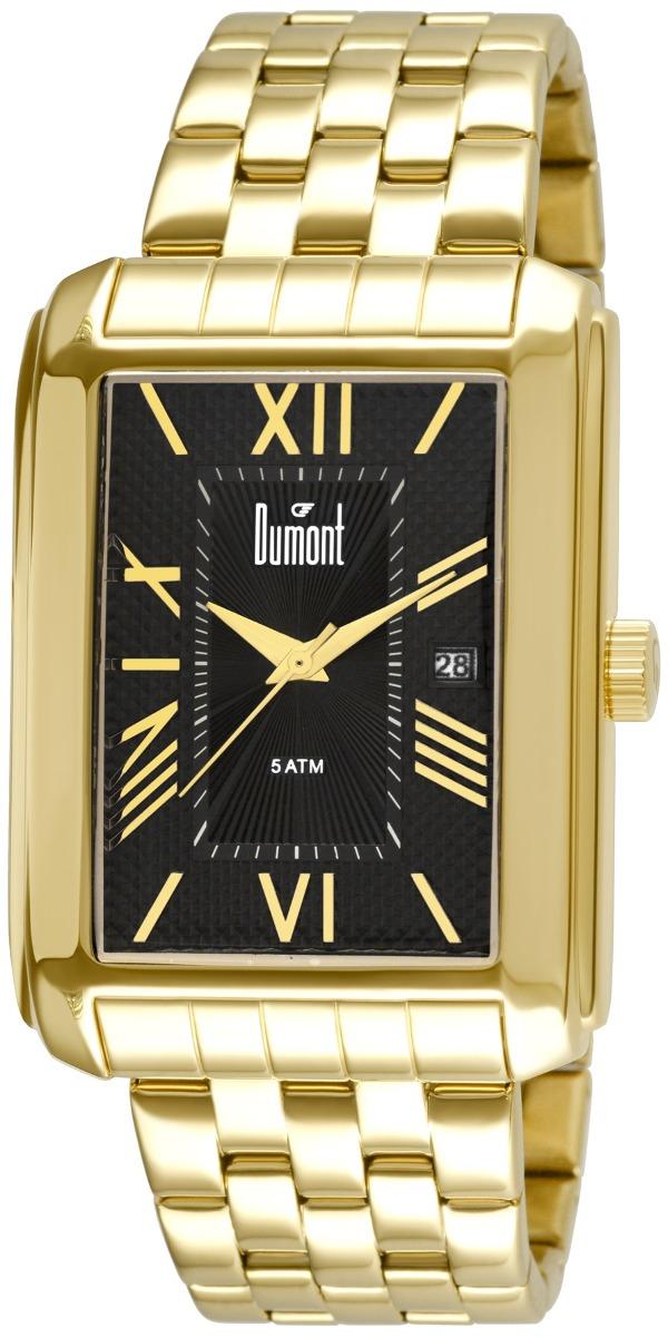 00592c2f846 Relógio Dumont Berlim Masculino Du2115br 4p - R  230