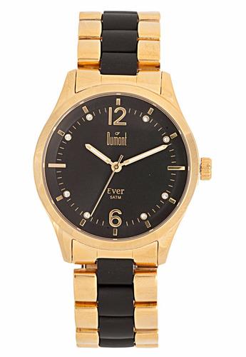 relógio dumont  dourado