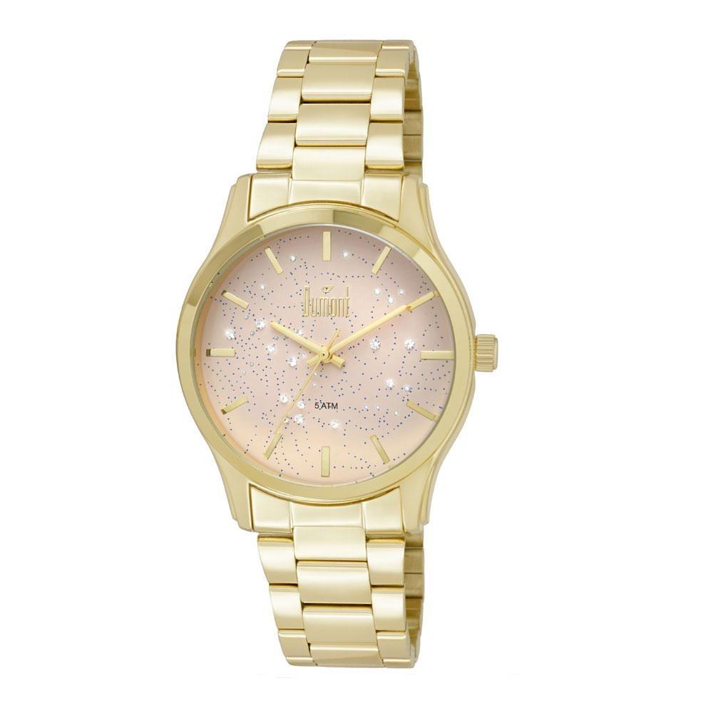 d5aaafa7894 relógio dumont elements du2039lul 4t dourado. Carregando zoom.