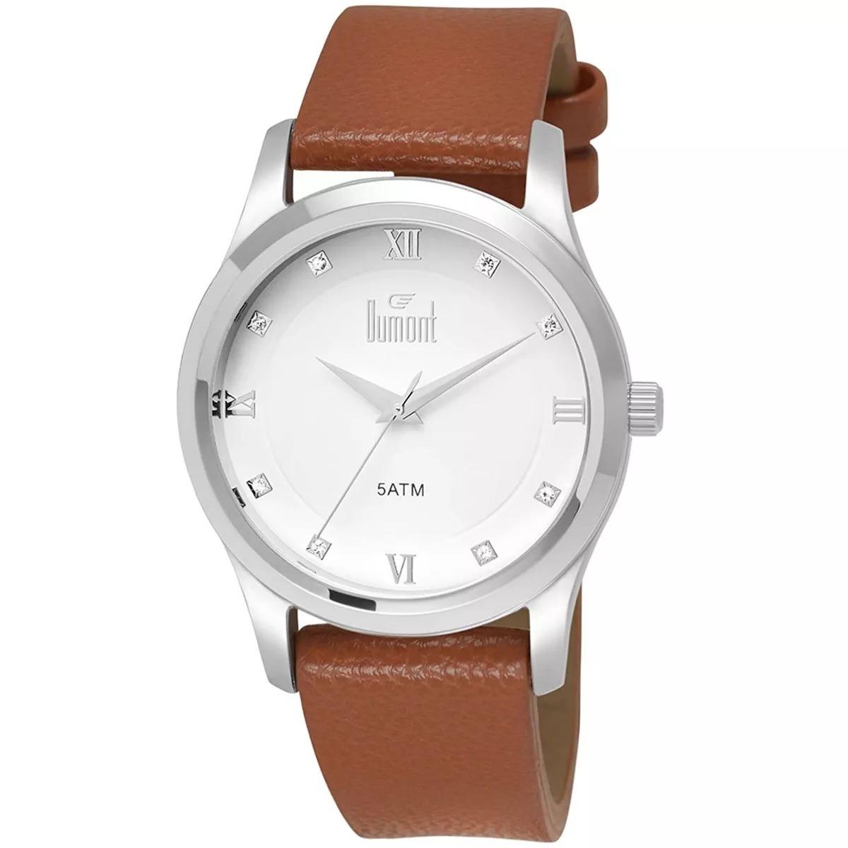 b6b8a6225de Relógio Dumont Feminino Analógico - Du2035luy 3b - R  149