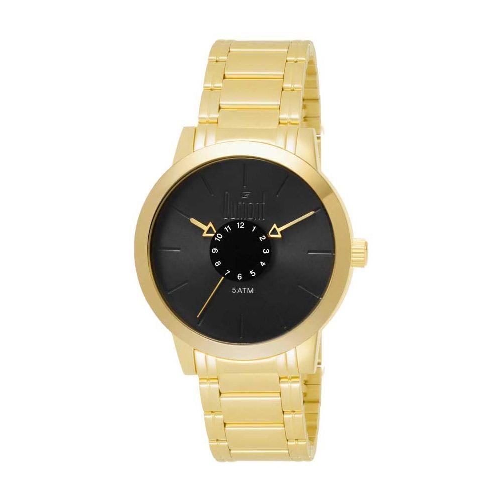 647ef56298f Relógio Dumont Feminino Elements Du2036mfb 4p Dourado - R  209
