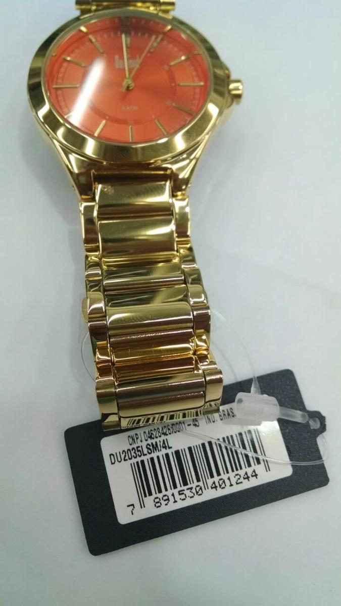 86282ca25e149 relógio dumont masc london du2035lsm 4l original e barato. Carregando zoom.