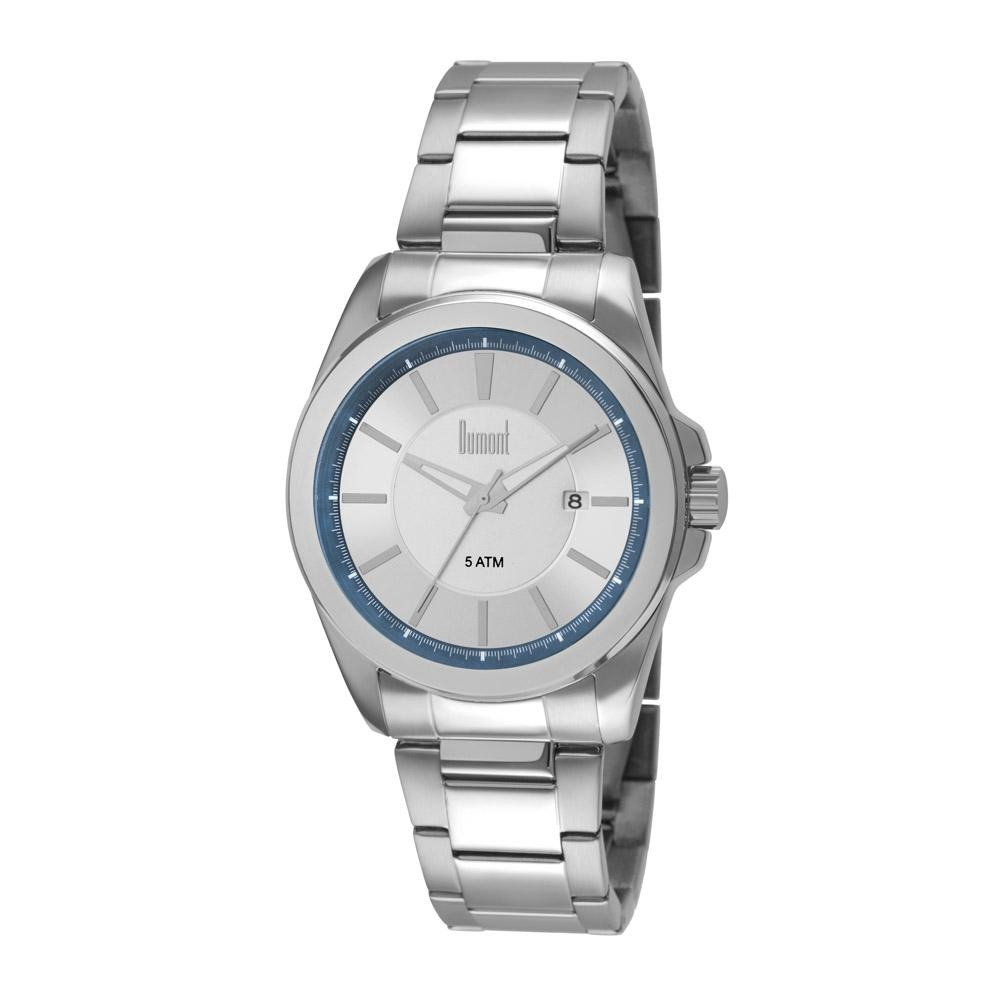 7e23d8302a0 Relógio Dumont Masculino Berlim Du2315an 3k Prata - R  219