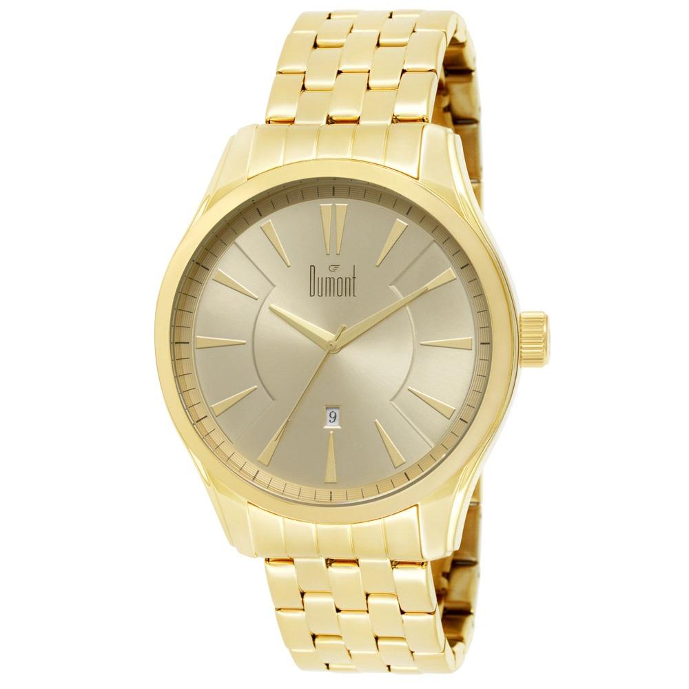 Relógio Dumont Slim Masculino Du2315av 4d - R  290,00 em Mercado Livre 17222eeac3