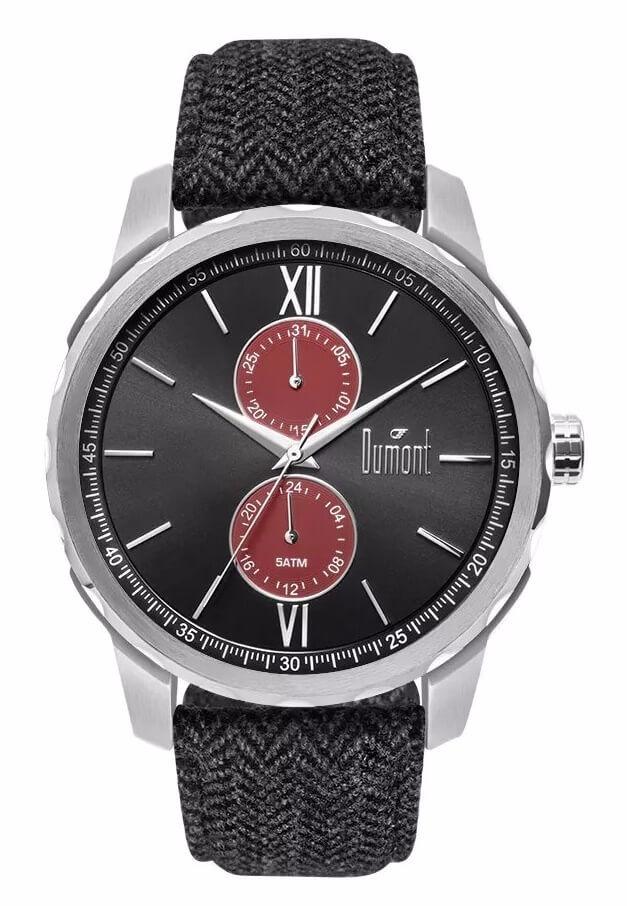4d0d77e1ea6ac Relógio Dumont Masculino Traveller Du6p23aa 8c - R  221,16 em ...
