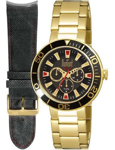 relógio dumont rotor troca pulseiras du6p29abv/2p - pulseira