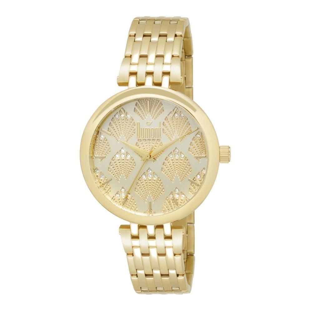Relógio Dumont Splèndore Du2039luq 4d Dourado - R  215,90 em Mercado ... 1ce0ad7653