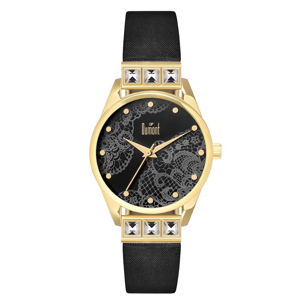 Relógio Dumont Splèndore Preto Du2035lwl 2p - R  239,90 em Mercado Livre 54e81727dd