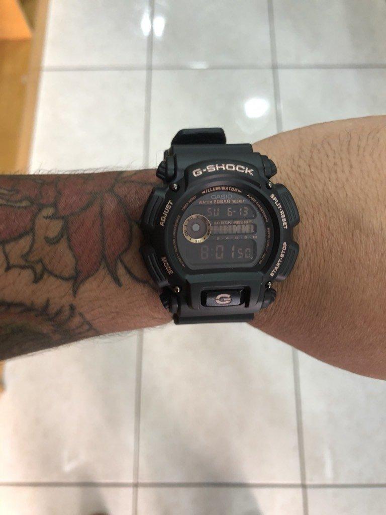 cc0a0dfbd44 relógio dw-9052gbx-1a4 com detalhes em rosé gold. Carregando zoom.