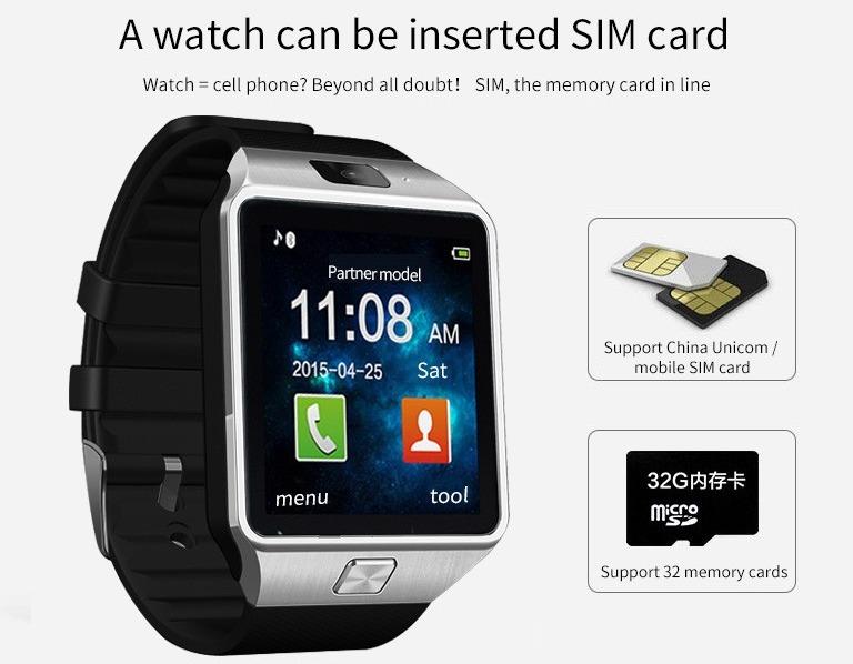 a26f4369f21 Relógio Dz09 Bluetooth Camêra Chip Redes Sociais Smart Rosa - R  72 ...