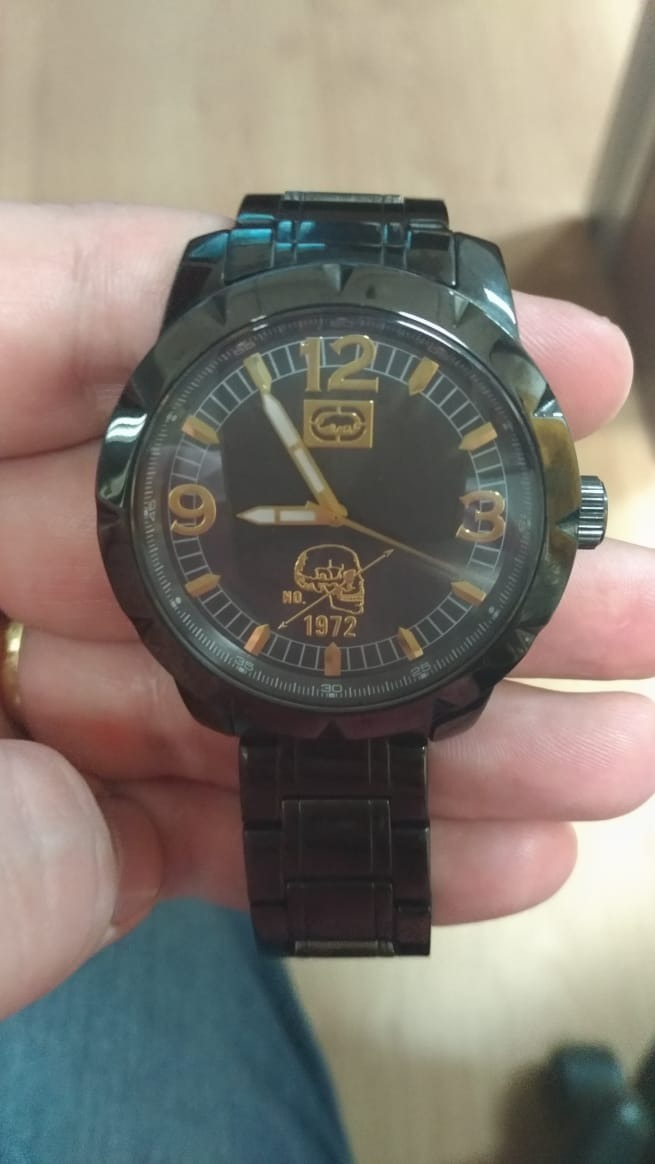 5c24a7d2d4d relógio ecko unltd preto original. Carregando zoom.