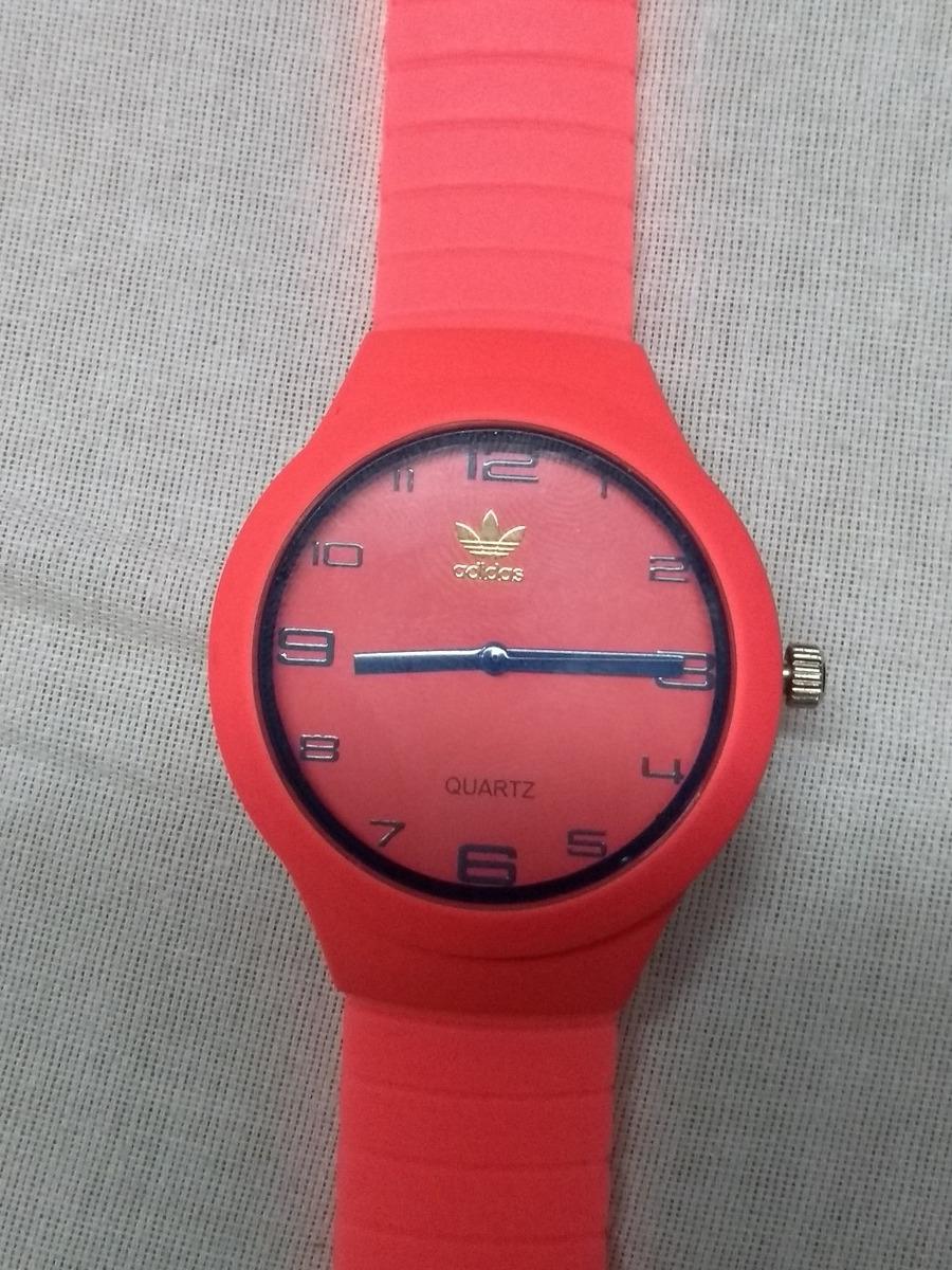 b1069a7ff86 Relogio Emborrachado Colorido Rosa E Azul Classic adidas - R  21