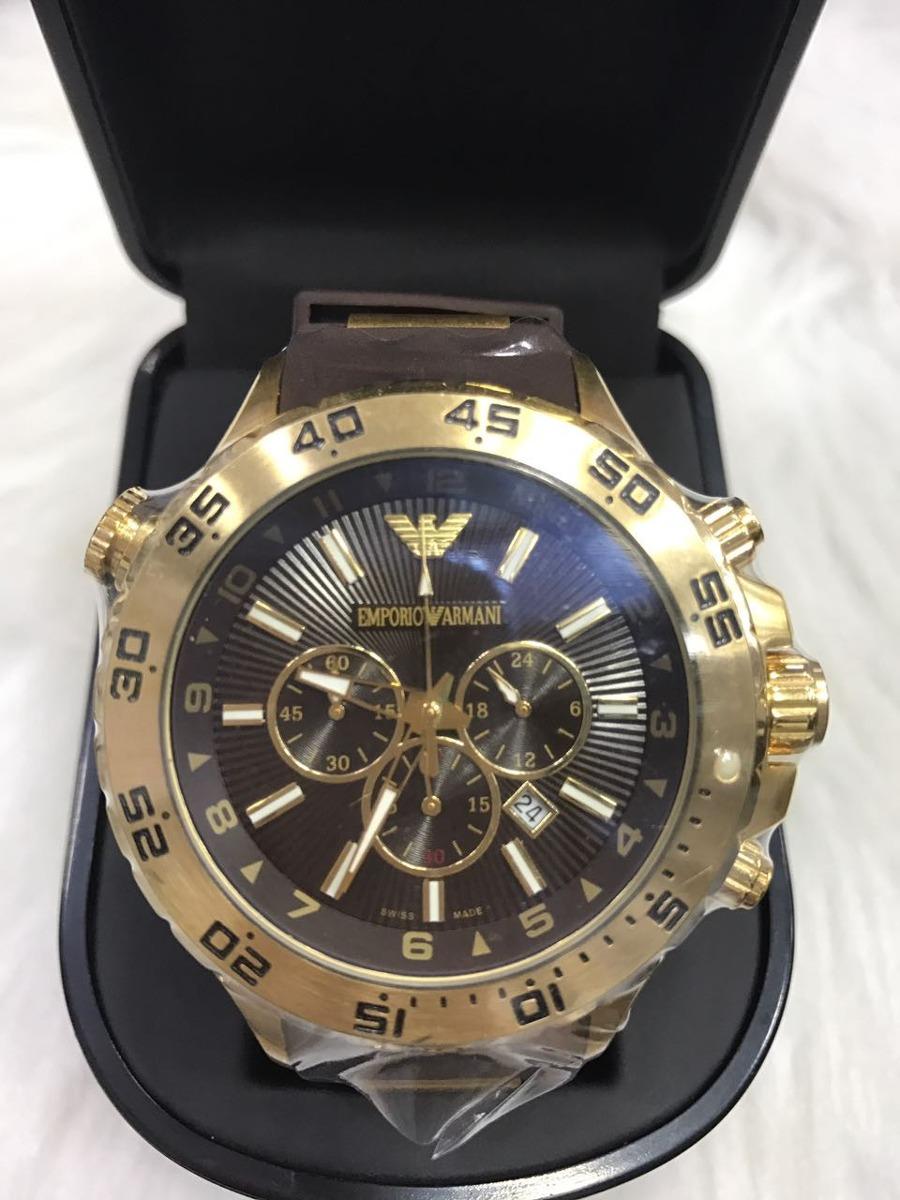 632f8fe5f12 relógio emporio armani 0690 borracha original garantia ar630. Carregando  zoom.