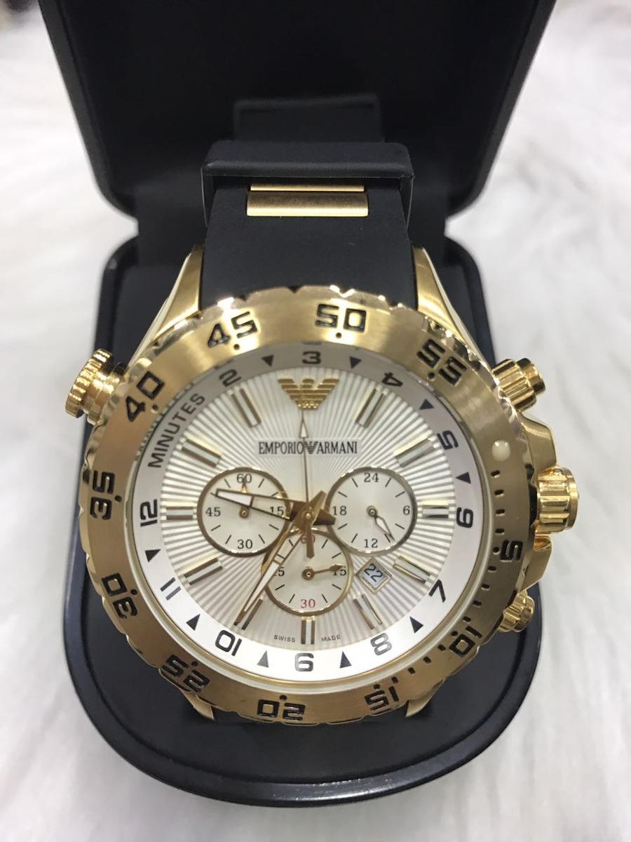 eb706c4616d relógio emporio armani 0690 dourado original garantia ax820. Carregando  zoom.