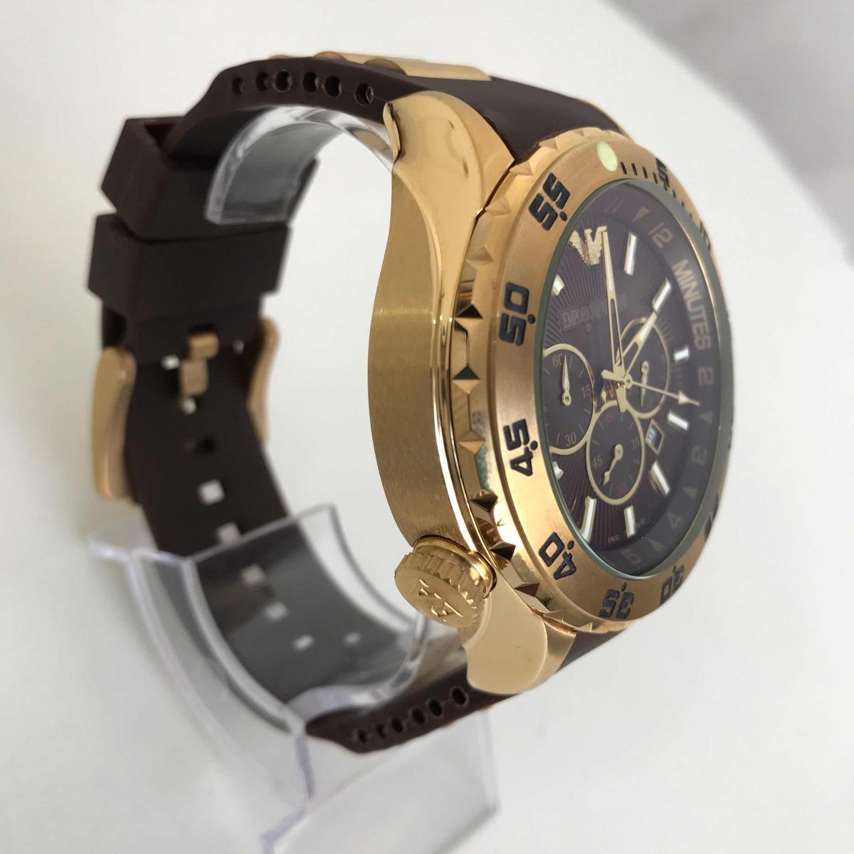 f429b7fbb67 Relógio Emporio Armani 0690 Dourado
