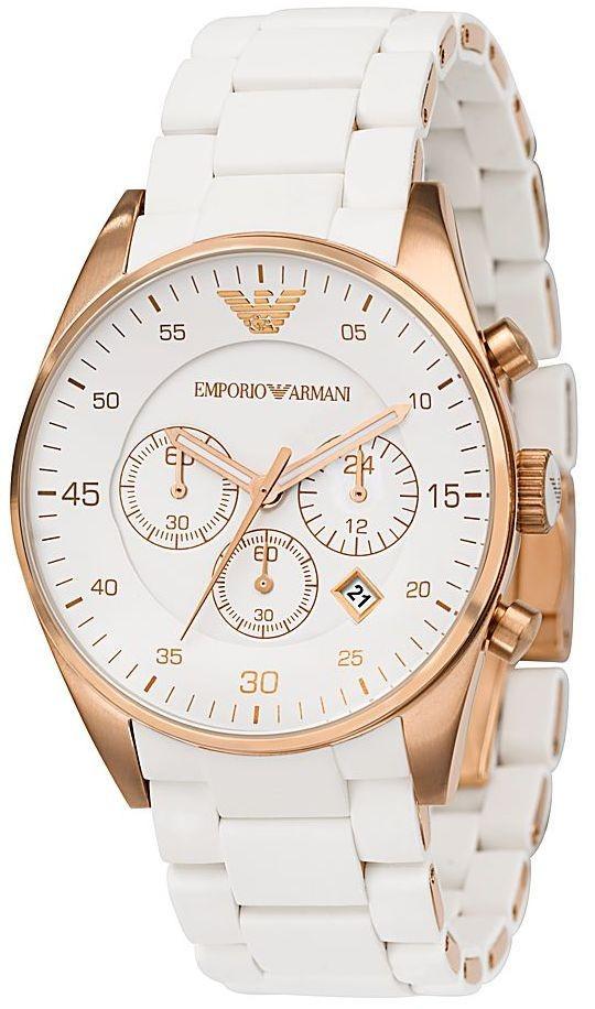 a90c119a282 relógio emporio armani ar5905 preto ar5919 branco c  caixa ! relógio  emporio armani. Carregando zoom.