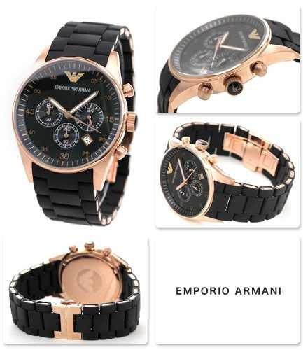 661781c4db4 Relógio Emporio Armani Ar5905 Preto Lindo Frete Grátis. - R  249