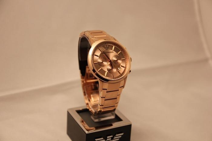 4c6732bf402 relógio empório armani · empório armani relógio · relógio luxo empório  armani ar2452 orig chron anal